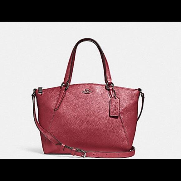 b6b67c6920 Coach Bags | Mini Kelsey Satchelmetallic Hot Pink | Poshmark